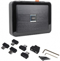 Brand New Alpine PDX-V9 5-Channel 900 Watt RMS Class D Amplifier With Stackable Chassis Design for Compact Installations