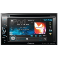Pioneer AVH-X2500BT 2-DIN Multimedia DVD Receiver with 6.1 WVGA Touchscreen Display