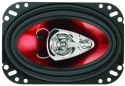 Boss CH4630 Chaos Series 4x6-Inch 3-Way Speakers (Pair)
