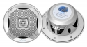 Pyle AQ5CXS  Lanzar 400 Watts 5.25-Inch 2-Way Marine Speakers Silver