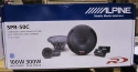 Alpine SPR-50C 5.25 Car Audio Component System (Pair)