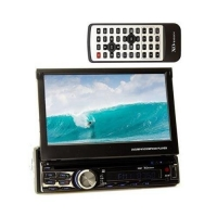 XO Vision X357 - in-Dash DVD/CD Receiver with 7 LCD and Bluetooth