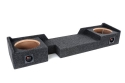 Atrend A372-10Cp B Box Series 10-Inch Dual Down-Fire Subwoofer Boxes