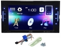JVC KW-V11 Double Din Car DVD/iPhone/Pandora Radio Player Receiver 6.2 Monitor