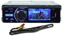 Package: JVC KD-AV300 In-Dash Single Din Car DVD/CD Receiver With 3 Display, iPhone 2-Way control, USB/AUX, and A Wireless Remote + Rockville RBC5B Black Rearview Backup License Plate Bar Camera With Adjustable 170 Degree Wide Angle Lens