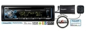 Pioneer DEH-X3700S CD Receiver USB and Auxiliary with SiriusXM SXV300 Tuner & Antenna with a FREE SOTS Air Freshener