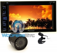 pkg Pioneer AVH-270BT 2-DIN 6.2 Touchscreen LCD DVD/CD/MP3 Stereo Receiver with Bluetooth+XO Vision Backup Camera with Nightvision