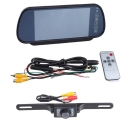 7 LCD Car Rear View Backup Parking Monitor With Camera (Two way video input, 480W * RGB * 234H )