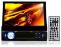 Pyle PL75DL 7-Inch Touchscreen Monitor and Receiver with iPod/MP3 Input, AM/FM, SD Memory and USB Flash