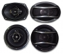 2) Pioneer TS-A1676R 6.5 3-Way + 2) Pioneer TS-A6966R 6X9 3-Way**PIONEER CAR SPEAKER PACKAGE