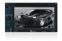 XO Vision XOD1763NAV 6.1-Inch Double Din Touch Screen DVD Receiver with Internal Navigation System