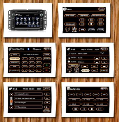 Simplesoft E8059GMC In-Dash Navigation