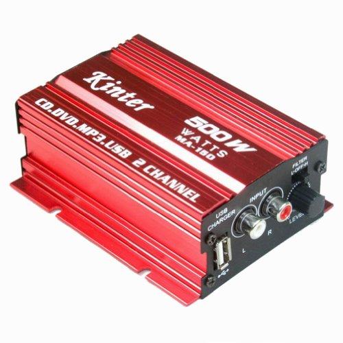 kinter ma 150 mini speaker digital car power amplifier amp 2 channel for mp3 mp4 cd kinter. Black Bedroom Furniture Sets. Home Design Ideas